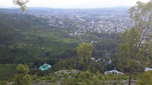 Mekelle City view
