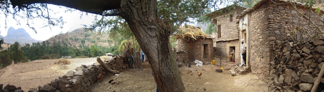 Traditional Hidmo House in Tigray